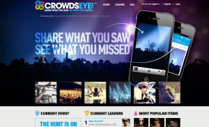 Crowdseye screen grab