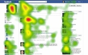 Facebook heat map